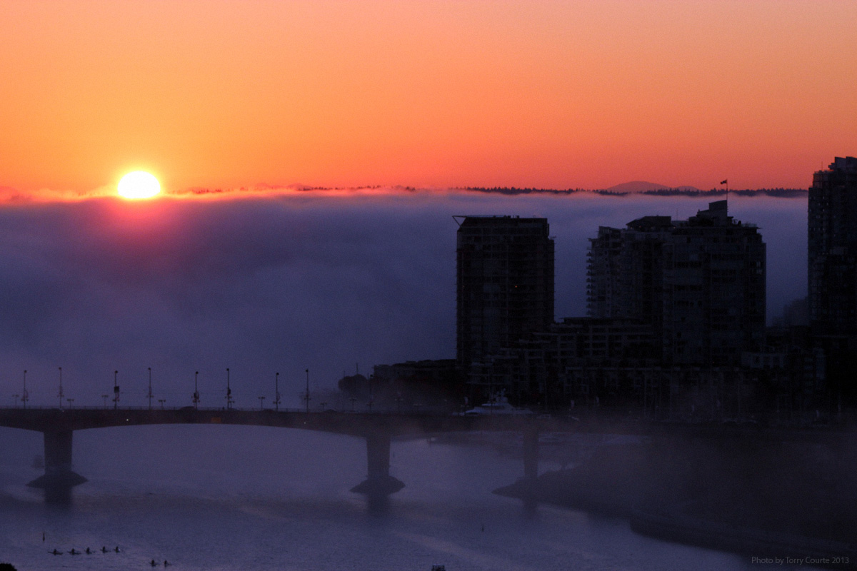Wall of Fog photograph by Torry Courte