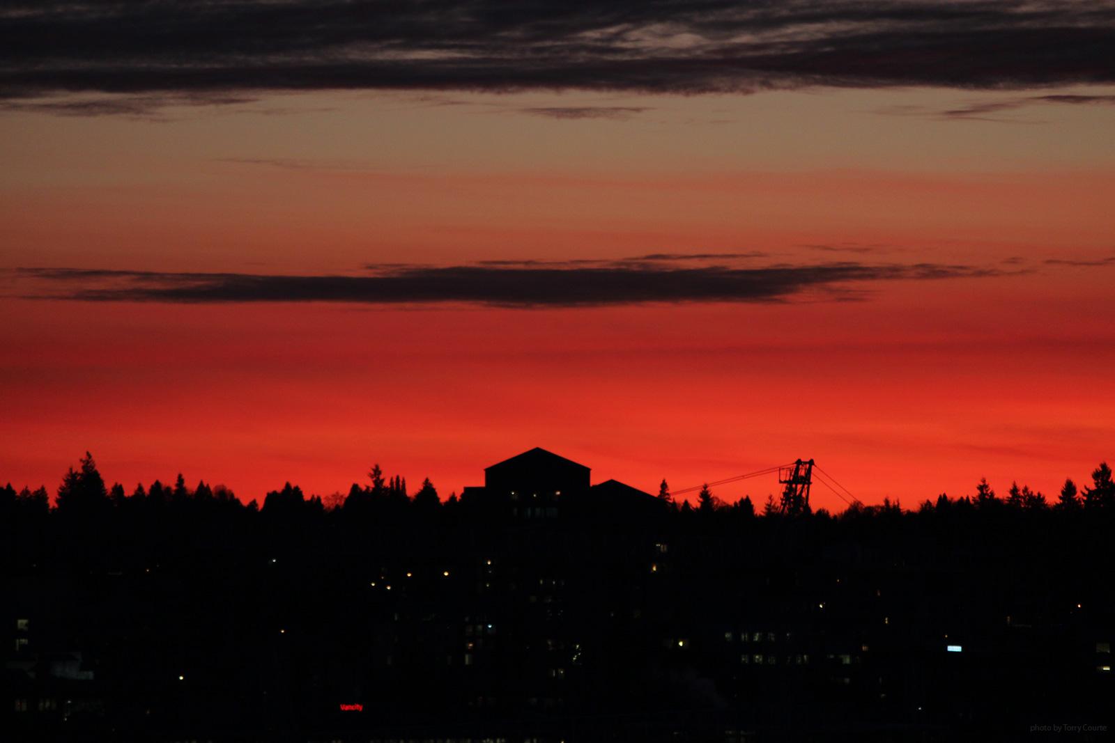Torry Courte - Sunset Skyline Photograph