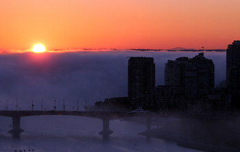 Wall of Fog photo by Torry Courte