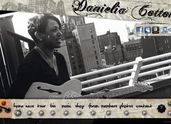 Danielia Cotton Website Development by Torry Courte