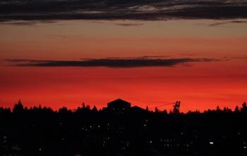 Torry Courte – Sunset Skyline Photograph